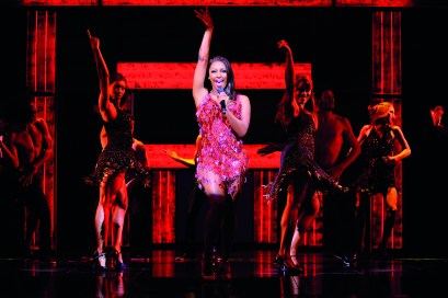 Alexandra Burke in The Bodyguard (Photograph of West End production) - 5385 - Photo by Paul Coltas