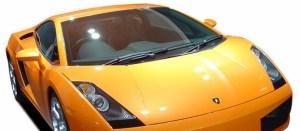 Lamborghini-superleggera sports car hire in Birmingham