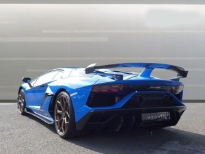 Lamborghini Aventador Svj Coupe limo hire birmingham prices