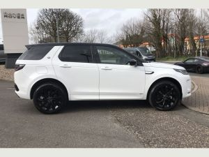 Land Rover Discovery Sport wedding hire cars