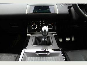 range rover evoque sporty car
