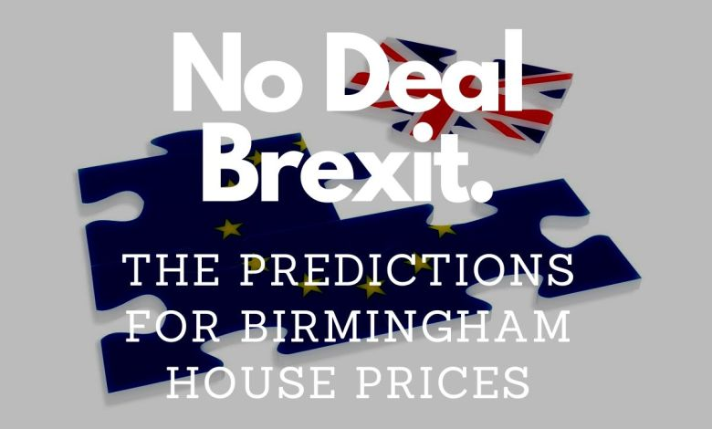 No Deal Brexit – The Prediction for Birmingham City Centre House Prices