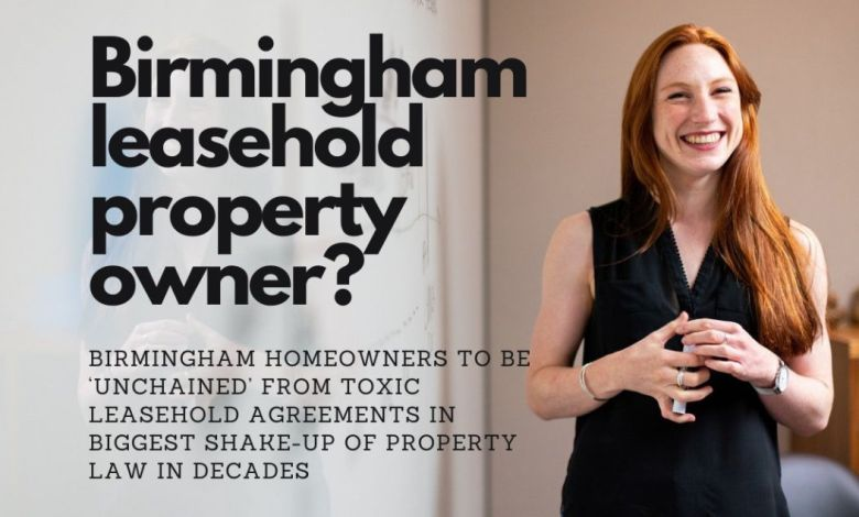 1,193 Jewellery Quarter Homeowners to be 'Unchained' from Toxic Leasehold Agreements