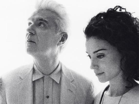 David Byrne & St Vincent - b&w