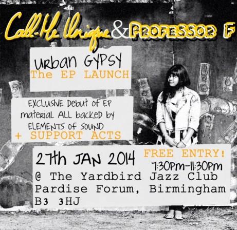 Urban Gypsy EP Launch Party - eflyer #2