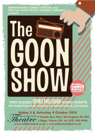 The Goon Show @ The Old Joint Stock