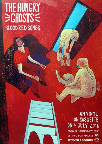 Blood Red Songs EP - The Hungry Ghosts