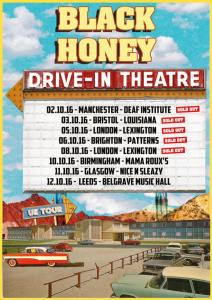 Black Honey Tour Poster 2016