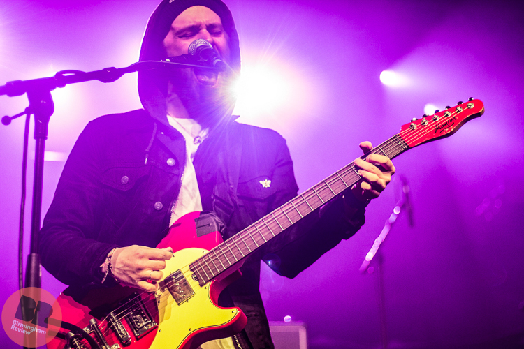 THE GALLERY: Black Foxxes – supporting You Me At Six @ O2 Academy (B'ham) 10.04.17 / Eleanor Sutcliffe - Birmingham Review