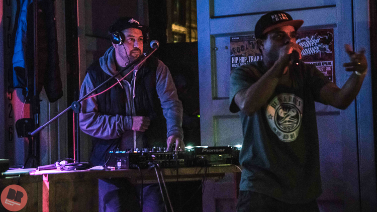 Trademark Blud - supporting KRS-One @ Hawker Yard 01.10.19 / Aatish Ramchurn - Birmingham Review