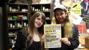 Lydia Brookes and Joseph Parker – Singing for Supper @ The Castle & Falcon 24.11.17