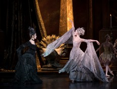 Nao Sakuma as Carabosse and Jenna Roberts as the Lilac Fairy / Bill Cooper