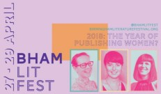 BREVIEW: Spring at Birmingham Literature Festival @ REP & other venues 27-29.04.18