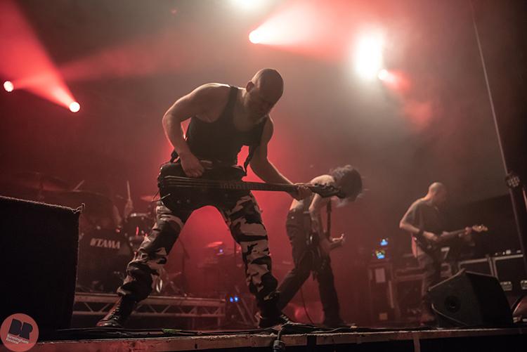 Code Orange - supporting Trivium @ O2 Academy 17.04.18 / Phil Drury