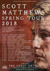 ALBUM: The Great Untold – Scott Matthews 27.04.18 / UK tour dates