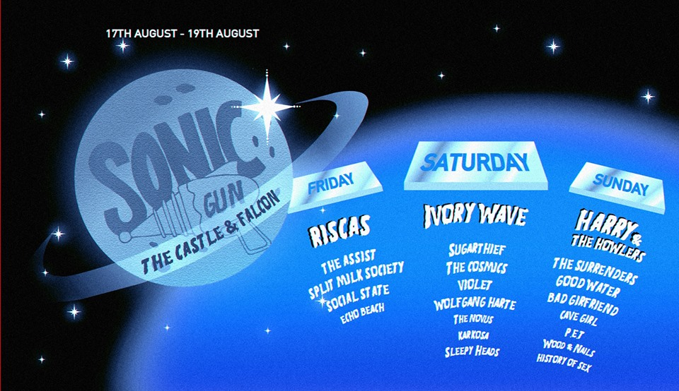 BPREVIEW: Sonic Gun Weekender @ The Castle & Falcon 17-19.08.18