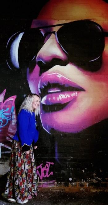 Jo Jeffries at the Birmingham Music Awards 2018