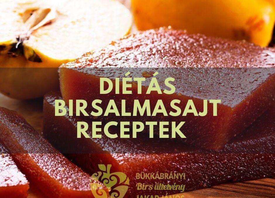 cukormentes birsalmasajt receptek diátásan édesítővel, eritrittel