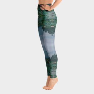 Lotus Meditation Yoga Pants Leggings