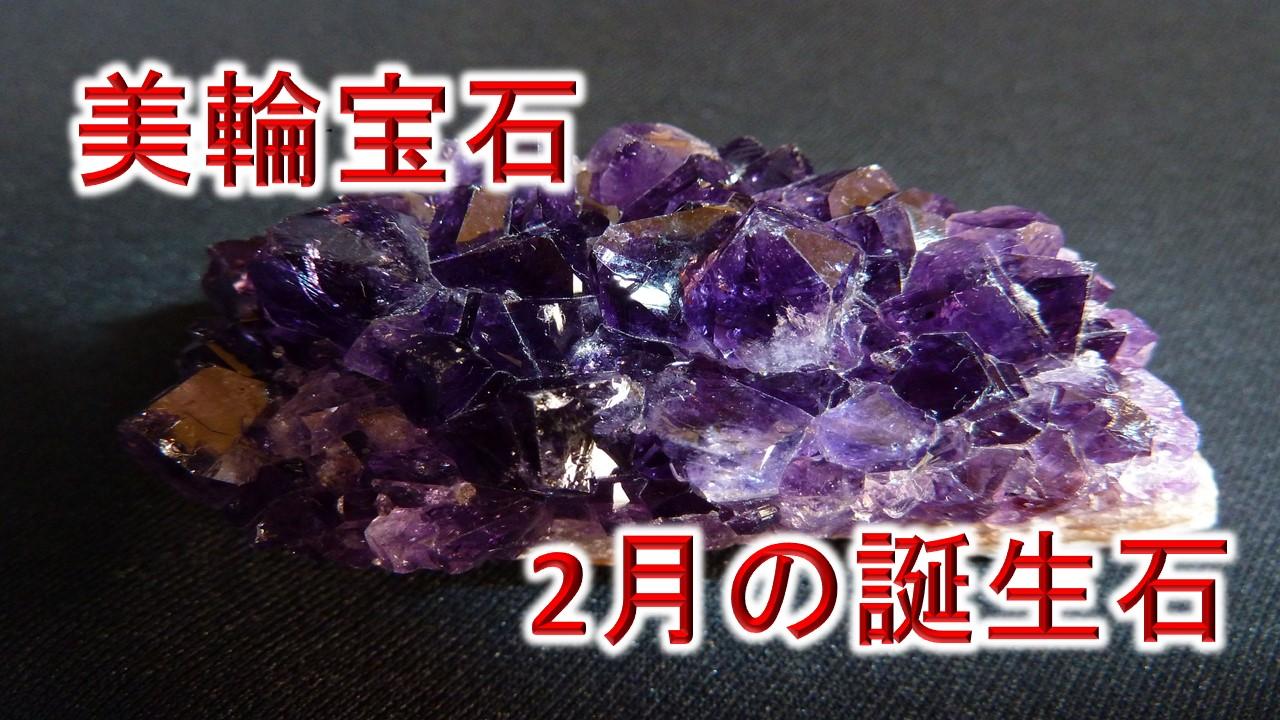 美輪宝石 2月の誕生石