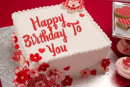 Online Birthday Cake Name Editing