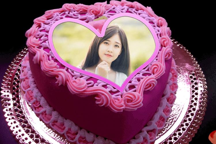 Birthday Cake Photo Frame Online Editor Allcanwear Org