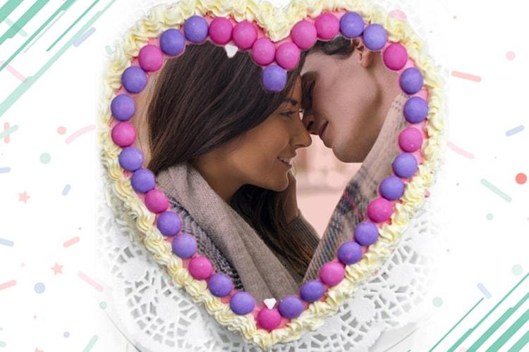 Birthday Cake Frames For Lovers