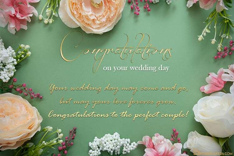 Latest Wedding Congratulations Card Making