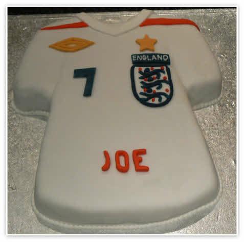 Football Shirt Cake Images  Birthday Cakes  Essex Birthday Cakes  Childrens Birthday Cakes