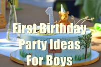 1st Birthday Party Ideas for Boys You will Love to Know ...