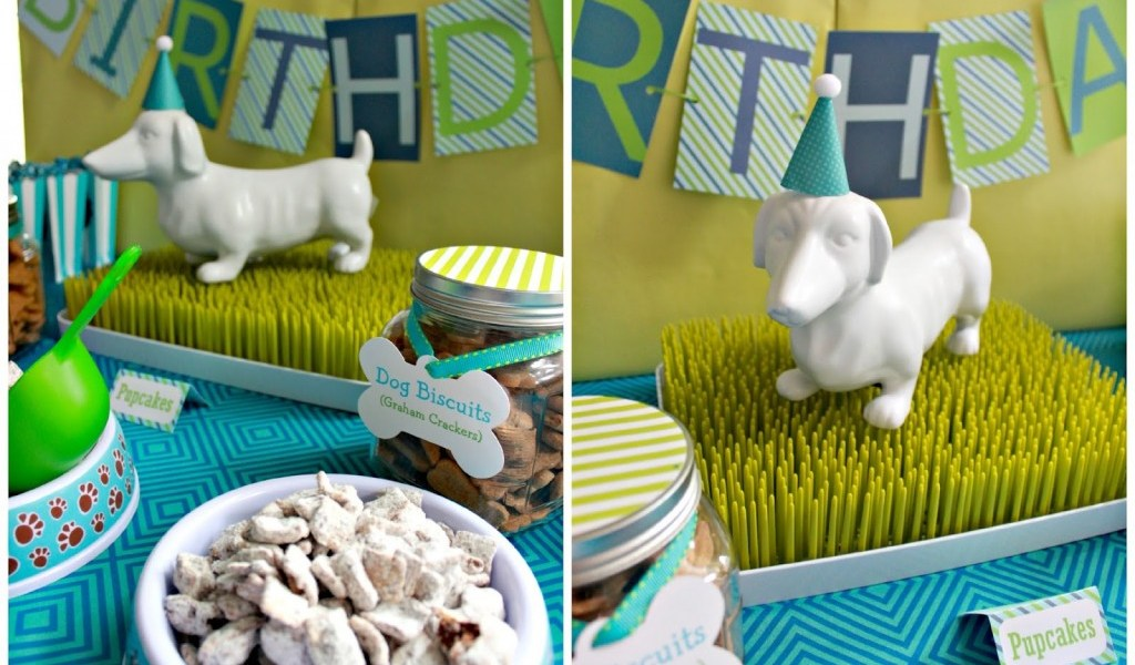 Themed Home Decor 23 Dog Birthday Party Ideas That