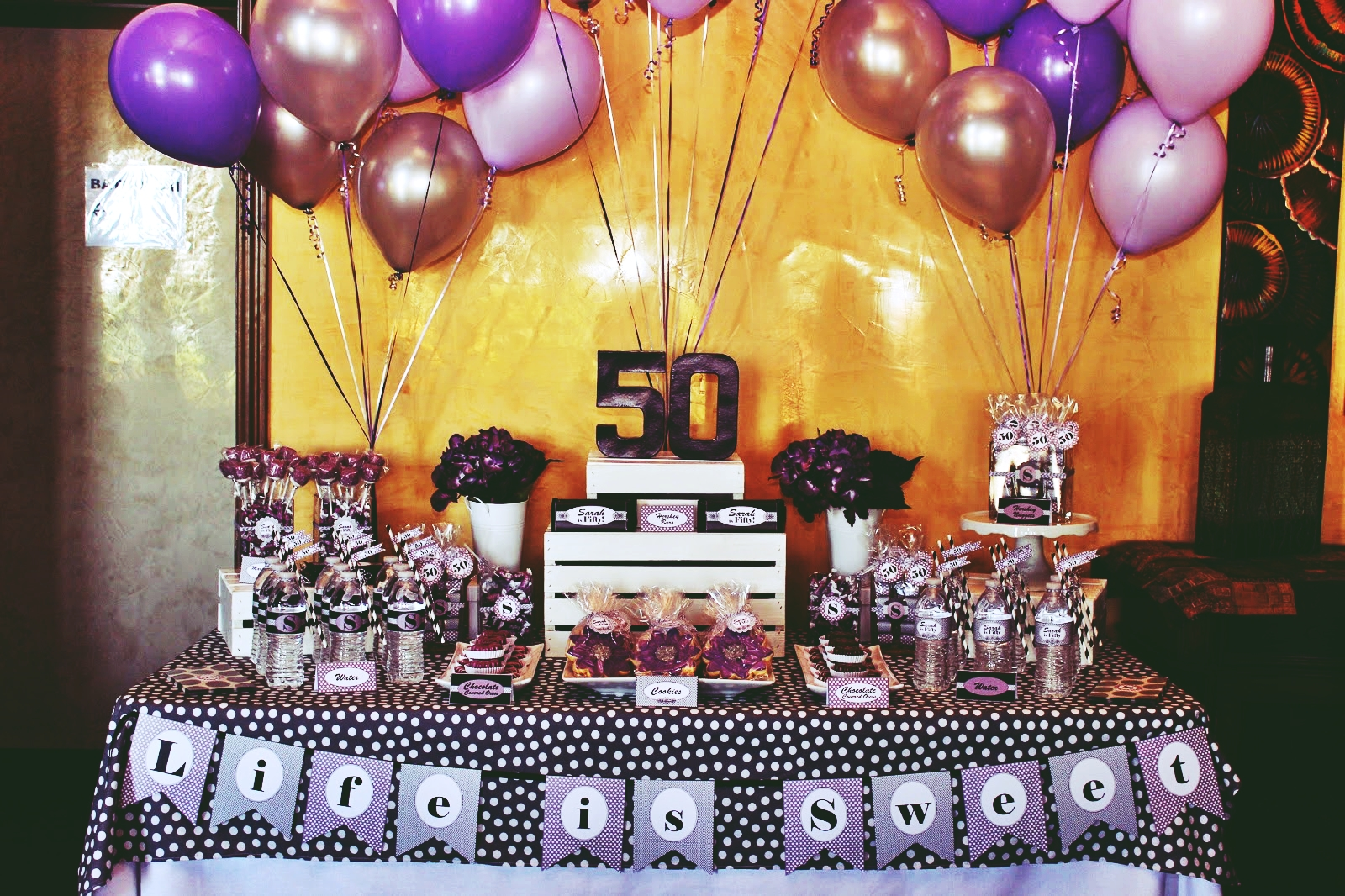 perfect 50th birthday party