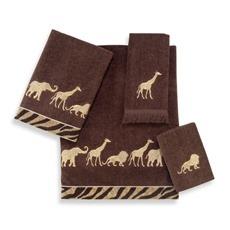 Animal Theme Towels