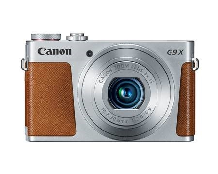 Silver Power Shot G9 X Digital Camera