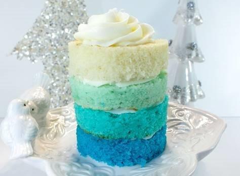 Mini Ombre Cakes