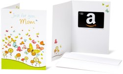 Amazon Gift Card with a Greeting Card