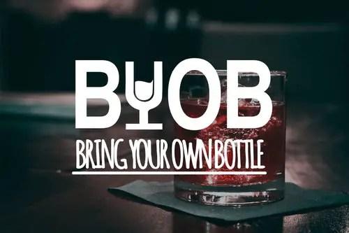 BYOB drinks