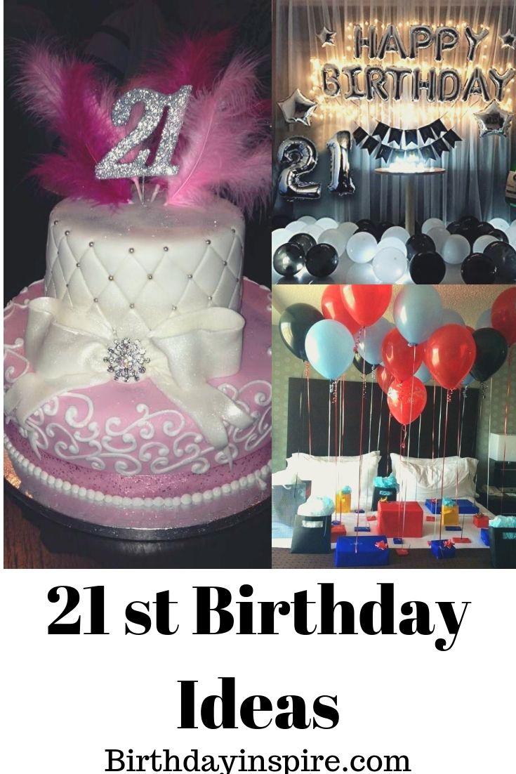 100 best 21st birthday