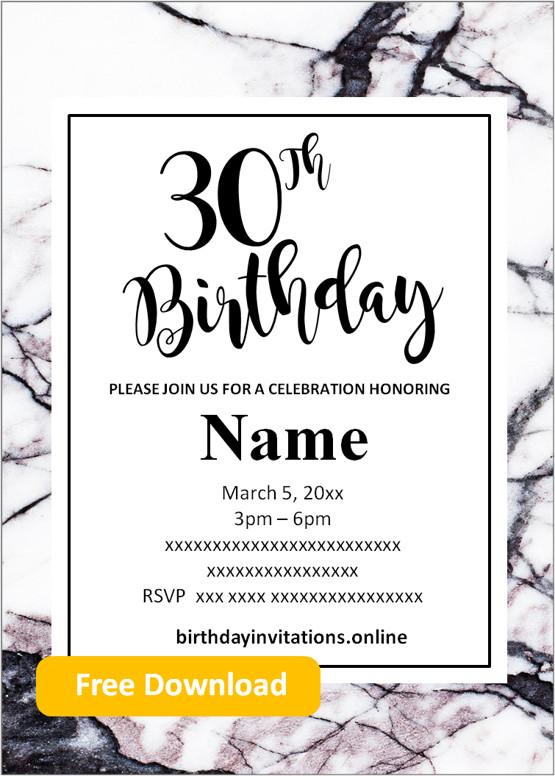 free printable 80th birthday