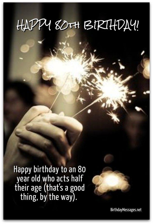 80th Birthday Greetings Images : birthday, greetings, images, Birthday, Wishes, Messages