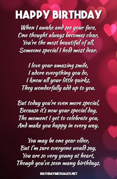 Romantic Happy Birthday To The Man I Love : romantic, happy, birthday, Romantic, Birthday, Poems:, Messages