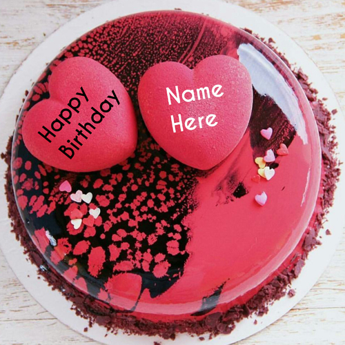 Creative And Designer Flower Birthday Cakes With Name