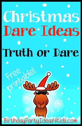 Double Dare Christmas : double, christmas, Christmas, Dares, Truth