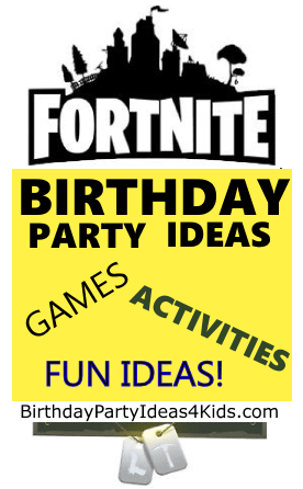 fortnite birthday party ideas