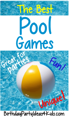 pool party games games