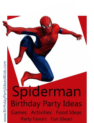 spiderman birthday party ideas for kids