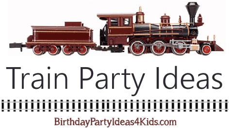 train birthday party ideas for kids