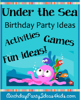 under the sea birthday