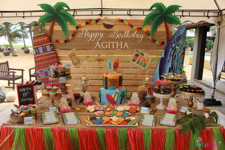 Tropical Summer Beach Party Birthday Party Ideas Amp Themes