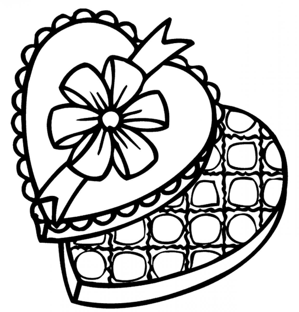 Free coloring pages of the chocolate touch